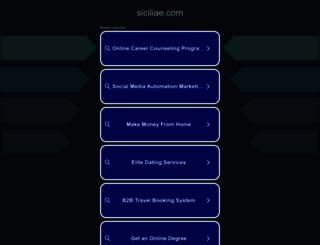 siciliae.com screenshot