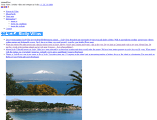sicilyvillas.com screenshot