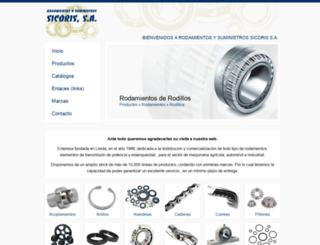 sicoris-sa.com screenshot