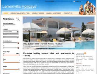side.lemonvillas.com screenshot