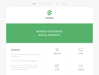sidebar.gr screenshot