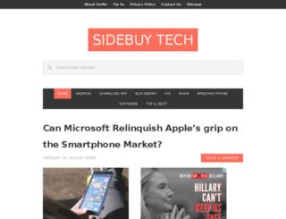sidebuytech.com screenshot