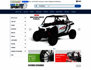 sidebysidesports.com screenshot