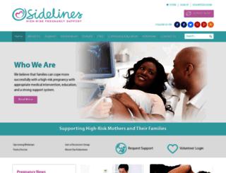 sidelines.org screenshot