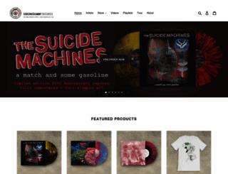sideonedummy.com screenshot