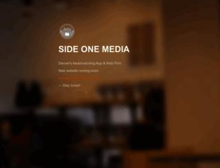 sideonemedia.com screenshot
