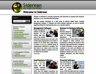 siderean.com screenshot