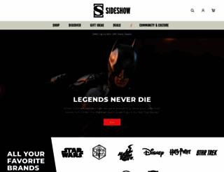 sideshowtoy.com screenshot