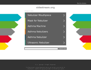 sidestream.org screenshot