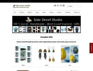 sidestreetstudio.com screenshot