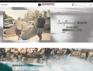 sideways.com.au screenshot