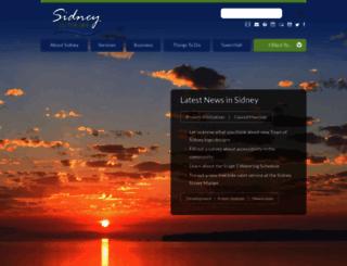sidney.ca screenshot