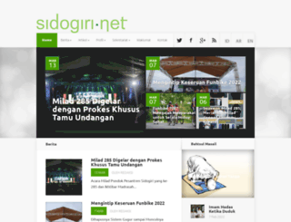 sidogiri.net screenshot