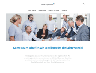 sieberpartners.ch screenshot