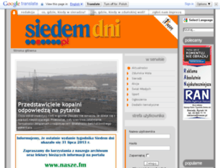 siedemdni.pl screenshot