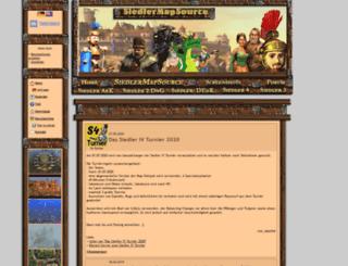 siedler-maps.com screenshot