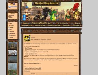 siedler-maps.de screenshot