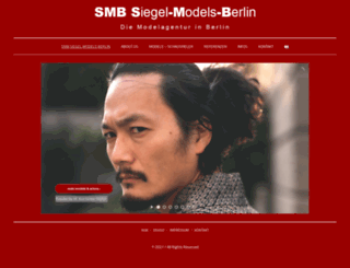 siegelmodelsberlin.com screenshot