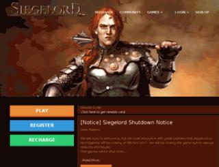 siegelord.lekoolgames.com screenshot