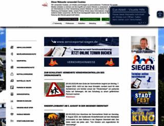 siegen.de screenshot