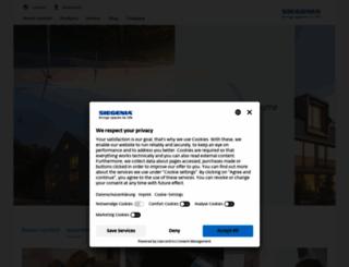 siegenia.com screenshot