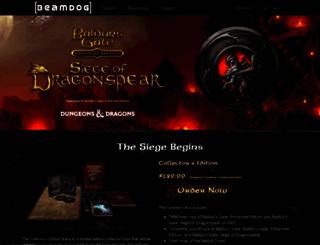 siegeofdragonspear.com screenshot