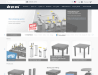 siegmund-group.com screenshot