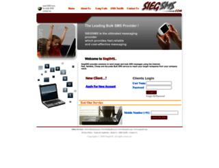 siegsms.com screenshot