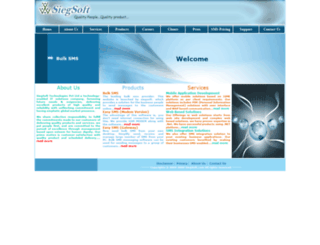 siegsoft.com screenshot