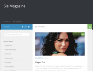 siemagazine.com screenshot