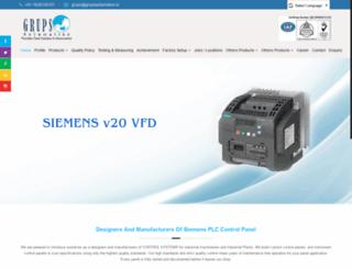 siemensplc.co.in screenshot