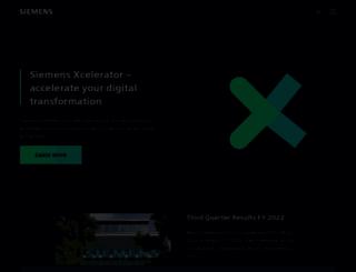 siemensvdo.com screenshot