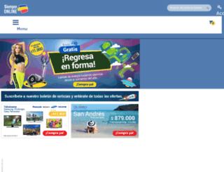 siempreonline.clickyacomprar.com screenshot