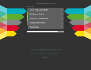 siemprepescando.com screenshot