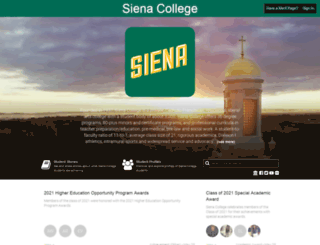 siena.meritpages.com screenshot