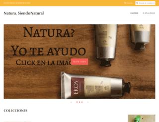 siendonatural.com screenshot