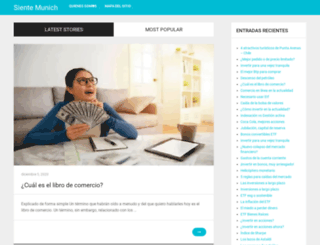 sientemunich.com screenshot