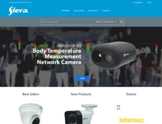 sieraelectronics.com screenshot