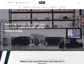 sierra.com.mx screenshot