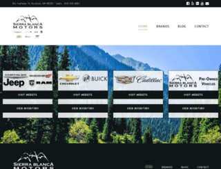 sierrablancamotors.com screenshot