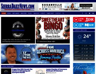 sierradailynews.com screenshot