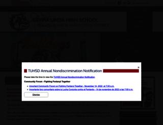 sierralinda.tuhsd.org screenshot