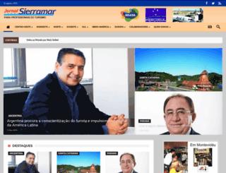 sierramar.com.br screenshot