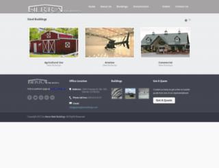 sierrasteelbuildings.com screenshot