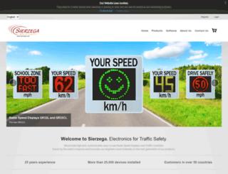 sierzega.com screenshot