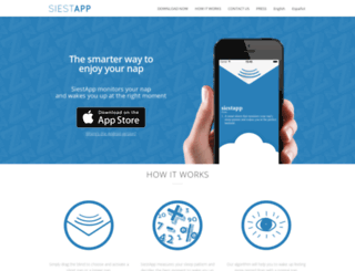 siestapp.com screenshot