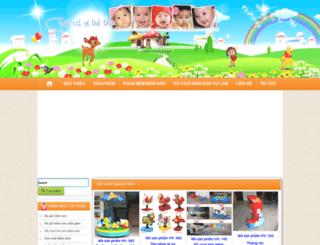 sieuthidochoimamnon.com screenshot