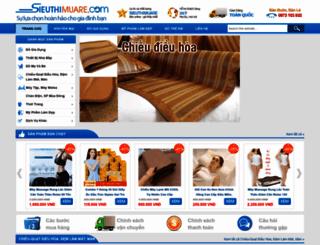 sieuthimuare.com screenshot