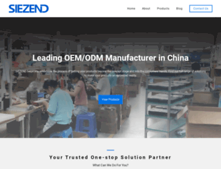 siezend.com screenshot