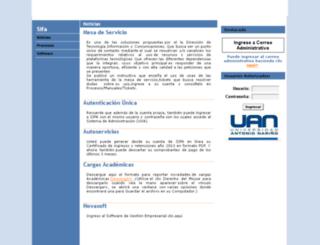 sifa.uan.edu.co screenshot